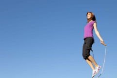 跳绳能不能瘦腿?跳绳减肥有什么要注意的?[图]